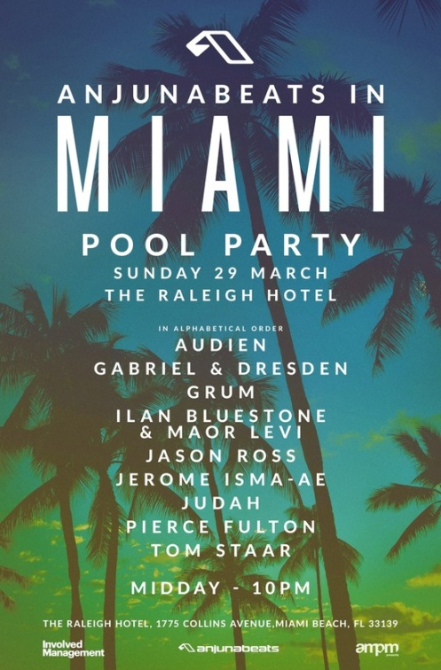 Anjunabeats in Miami